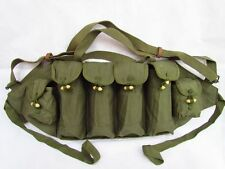 SURPLUS BAG MAGAZINE CHINESE MILITARY 81*TYPE CHEST RIG AMMO POUCH FOR AK BAG