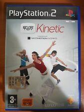 EYETOY PLAY: KINETIC - PLAYSTATION 2 PS2 USATO