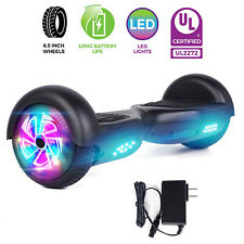 6.5'' Led Classic Black Self Balancing Electric Scooter Ul2272 Hoverboard no bag