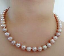 Collier de perles  naturelles d'eau douce 8-9mm Colore