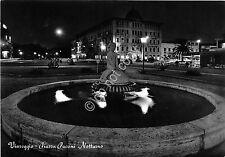 Cartolina - Postcard - Viareggio - Piazza Puccini - Notturno - By night - 1957