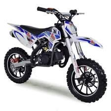 FunBikes MXR 50cc 61cm Blue Kids Mini Dirt Motorbike