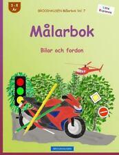 Little Explorers: BROCKHAUSEN Målarbok Vol. 7 - Målarbok : Bilar Och Fordon...