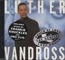 Luther Vandross Power of love/Love power-Remixes (1995) [Maxi-CD]