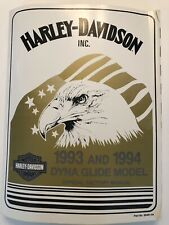 99481-94 Harley-Davidson 1993 And 1994 Dyna Glide Model Service Factory Manual