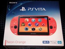 Sony PS Vita PCH-2000 ZA24 Orange Console Wi-Fi Japan domestic version New