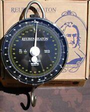 Reuben Heaton Waage 54 kg, Dual Scale, Skalierung in Gramm und in Lbs, Specimen