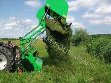 "Flail Collection Mower: Peruzzo Panther 1800, 72"" Cut, 64cu' Cap,Hi-Lift Dump!"