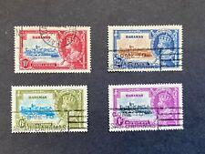 Bahamas 1935 Silver Jubilee set to 1/- slate & violet fine used SG 141-4 cat £40
