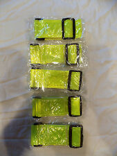**New** U.S. Army Reflective Yellow PT Belt - 5 Pack