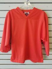 K1 Junior Hockey K1 2000 Long Sleeve Practice Jersey Orange Size Small S