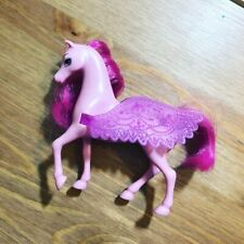 Small Pegasus Magical Flying Pink Barbie Horse With Wings