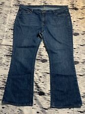 Old Navy 18 Short Womens Jeans The Flirt Boot Cut Flare Med Blue Preowned Euc