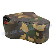O.N.E Camera Case Bag Protector For Canon EOS 60D 70D 600D 650D+18-200mm lens