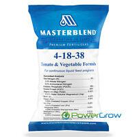 MASTERBLEND Official 4-18-38 Tomato & Vegetable Fertilizer BULK (1 Pound)