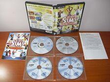 Los Sims Megaluxe (Más vivos que nunca & House Party) [PC CD-ROM] EA Maxis