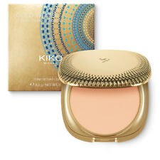 KIKO MILANO Gold Waves Powder Compact Foundation 02 Light SPF 50 LSF 50 Puder