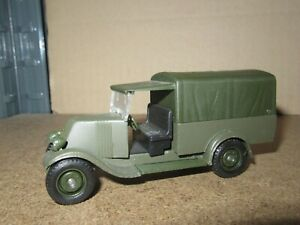 588Q 1981'S Solido No 6023 France Renault Kz Covered 1930 Military 1:45 L