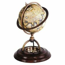 Authentic Models Gl019 Terrestrial Globe With Compass