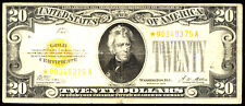 1928, $20 Fr 2402* Star Small Size Gold Certificate