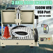 3Axis 6040 Engraver 3D Router Engraving Drilling Milling Machine with Rc 1500W