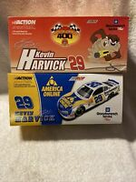 "Kevin Harvick #29 GM AOL 2001 Monte Carlo "" Monte Carlo 400 Car Lot 1:24 Scale"