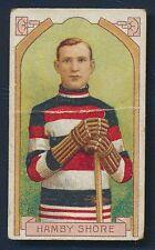 1911 C55 #12 Hamby Shore Imperial Tobacco Card Winnepeg Ottawa