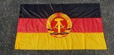 """Vintage East German DDR GDR Flag from 1989 Cold War Era 52"""" x 29"""" Original"""