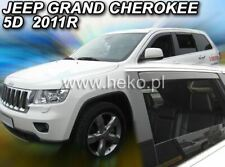 4 Deflettori Aria Antiturbo Jeep Grand Cherokee 2011 in poi 5 porte
