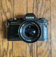 Konica AutoReflex TC 35mm SLR Film Camera with 50mm F1.7 Hexanon Lens