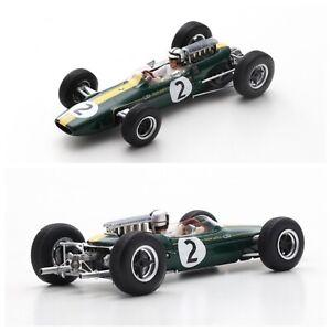 1/43 Spark Lotus 33 N°2 GP France 1966 Pedro Rodriguez Neuf Livraison Domicile