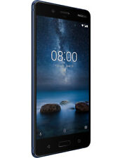 "New Nokia 8 Polished Blue 5.3"" 64GB Octa Core 4GB LTE Android 7.1 Sim Free UK"