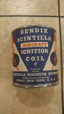 Bendix Scintilla ignition coil, unopened (1943)