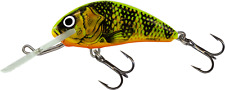 Salmo Hornet 4cm Floating Crankbait Fishing Lure Gold Fluo Perch