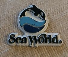 Sea World Vintage Rubber Magnet Fridge Tourist Attraction #2