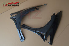 MU LOOK CARBON FIBE FRONT WINGS FENDERS FOR HONDA CIVIC FN2 TYPE R 2006 2011