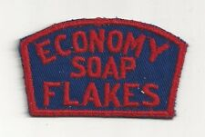 1940's Economy Soap Flakes Uniform Patch