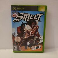 NFL Street (Microsoft Xbox, 2004) Complete W/ Manual CIB Very Clean! Tested