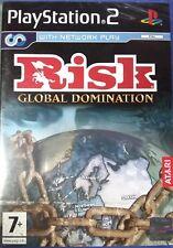 Risk Global Domination PlayStation 2 PS2 PAL version blue casing SEALED free shp