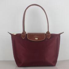 100% Authentic Longchamp Le Pliage Small Tote Bag Wine 2605089009