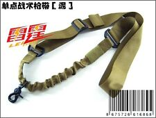 New Airsoft 1-Point Elastic Bungee Tactical Rifle Sling