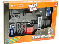 PHOENIX TOYS HOBBY GEAR REPAIR TIRE SHOP DISPLAY ACCESSORIES 1/24