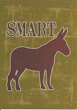 Happy Birthday Donkey Smart Ass Greeting Card By Sassy Slang
