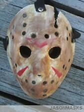 CUSTOM MADE Jason Voorhees FRIDAY THE 13th hockey mask Halloween costumes Freddy