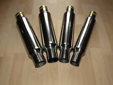 Düsenbeschleuniger - Durchgangsdämpfer 50mm* 55mm* 60mm* 63,5mm* Edelstahl