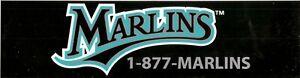 Miami Marlins--Bumper Sticker