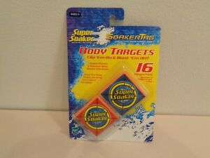 Super Soaker New BODY TARGETS SoakerTag Water Survival Game
