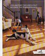 2009 PERGO Great Dane dog magazine ad print art laminate floor SWEDEN wood BOY