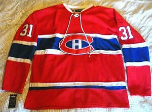 CAREY PRICE 31 - REEBOK AUTHENTIC NHL JERSEY - SIZE 54 - MONTREAL CANADIENS
