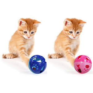 Pets First Large Size Cat Ball with Bell Toy for Cats Kittens and Other Animals